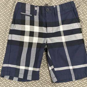 "Big Boys Burberry ""Tristan"" Shorts"
